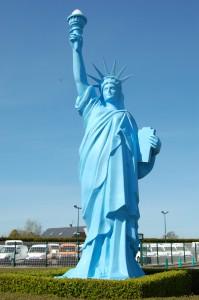 Statue de la liberté d'Ourville