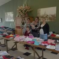Bourse aux vêtements et articles de puériculture de l'association L.A GOYA