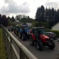 Bénédiction des tracteurs le lundi 16 mai 2016 à Ourville-en-Caux