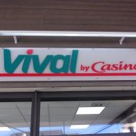 """Ouverture de la supérette""""VIVAL¨à Ourville-en-Caux"""