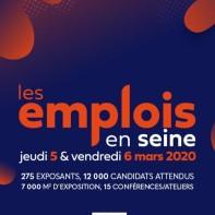 Les emplois en Seine 5 et 6 mars 2020
