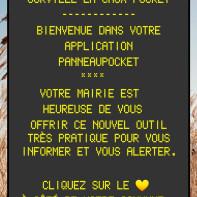 """Application """"panneaupocket"""""""